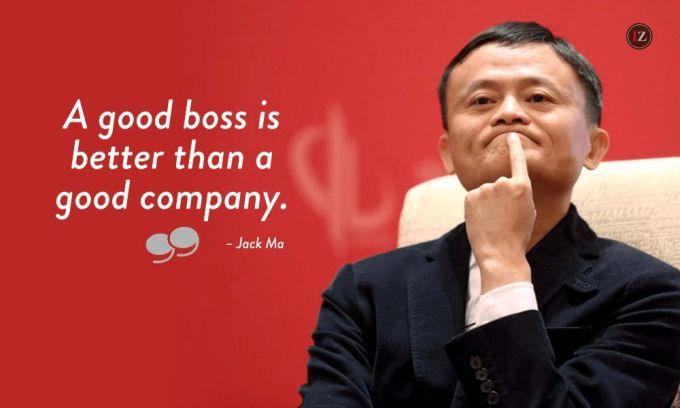 Jack ma boss